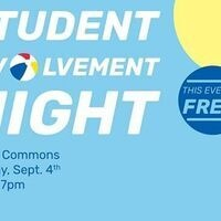 Student Involvement Night