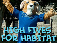 High Five's for Habitat