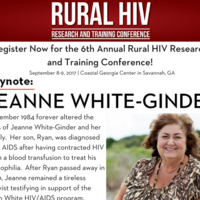Postponed:  Rural HIV Research and Training Conference