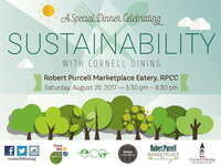 Celebrate Sustainability with Cornell Dining