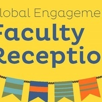 Global Engagement Faculty Reception