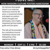 "Talk on ""How modern culture fosters narcissism"" by H. H. Romapada Swami"