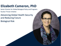 Advancing Global Health Security and Reducing Future Biological Risk