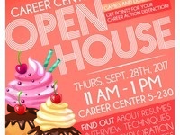 Career Center Open House and Dessert Reception!