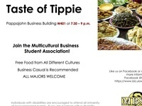 Multicultural Business Student Association: Taste of Tippie