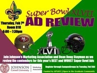 Marketing Association's Super Bowl Ad Review Party