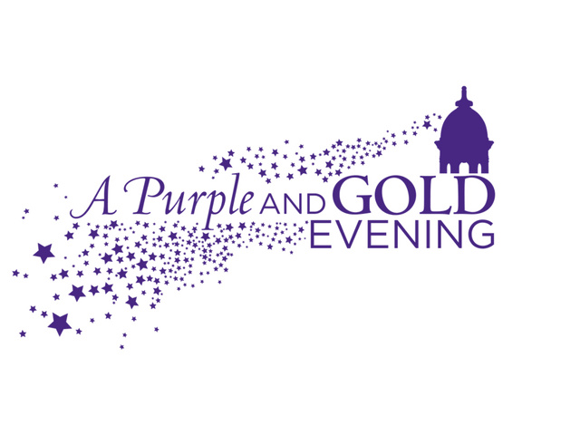 A Purple and Gold Evening