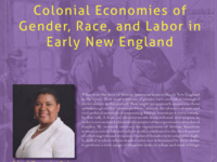 Colonial Economies of Gender, Race, and Labor in Early New England