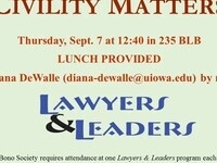 Lawyers & Leaders: Civility Matters