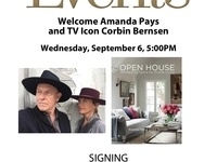 Welcome Amanda Pays and TV Icon Corbin Bernsen