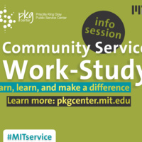 Community Service Work-Study Information Session