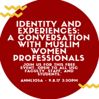 Identity and Experiences: A Conversation with Muslim Women Professionals