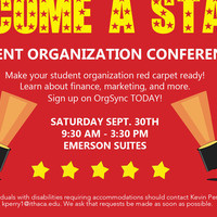 Become A Star: Student Organization Conference