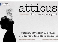 Atticus: The Anonymous Poet Lecture