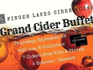 Finger Lakes Cider House Grand Cider Buffet