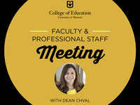 Faculty &Professional Staff Meeting