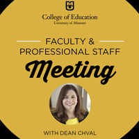 Faculty & Professional Staff Meeting
