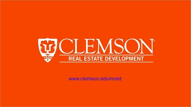 Clemson MRED Information Session