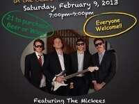 The Mickees with special guest Charlie Walters