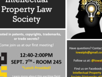 Intellectual Property Law Society Intro Meeting