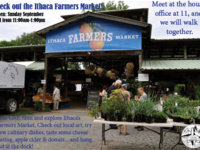 Check out the Ithaca's Farmers Market!