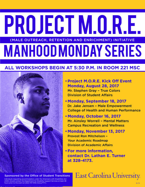 Manhood Monday Series: Your Academic Roadmap (Dr. Ron Michelson)
