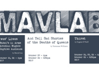 MavLab: 'And Tell Sad Stories of the Deaths of Queens'