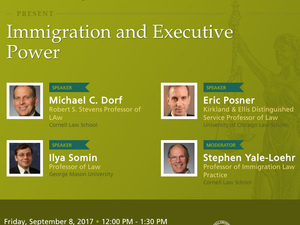 Panel on Immigration and Executive Power