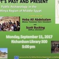 Engaging Egypt's Past and Present: Public Archeology in the Minya Region of Middle Egypt
