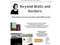 Beyond Walls and Borders: Achy Obejas in Conversation with UNR Faculty