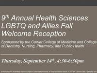 Health Sciences LGBTQ and Allies Fall Welcome Reception