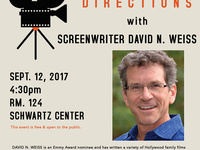 Professional Directions: Q&A with David N. Weiss (Shrek 2, The Smurfs)