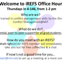 iREFS Office Hours