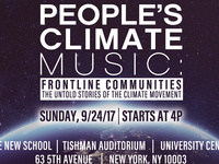 People's Climate Music: Frontline Communities - The Untold Stories of the Climate Movement