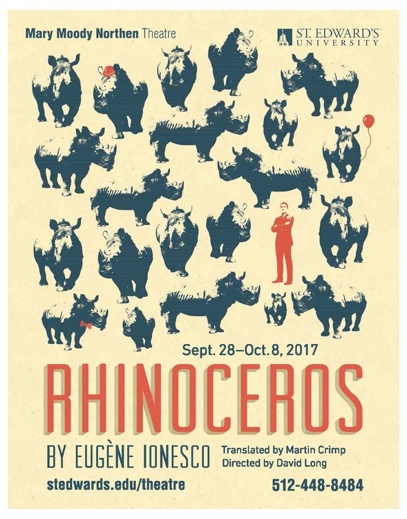a review of the book rhinoceros by eugene ionesco Ionesco's main character, berenger (geoff hoyle), is the only human who manages to resist being rhinocerized by the end of the play in the first rhino sighting, berenger is nonplussed he talks calmly with his friend jean (jarion monroe) about the nature of rhinos and remains unaffected until jean shows signs of rhinoceritis.