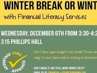 Winter Break or Winter Broke?—Financial Literacy Services