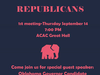 College Republicans First Meeting