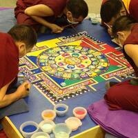 Tibetan Monks World Peace Sand Mandala