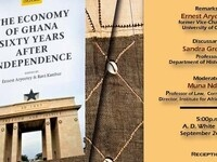 Book Launch: The Economy of Ghana Sixty Years After Independence