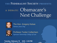 A Debate: Obamacare's Next Challenge