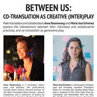 BETWEEN US: CO-TRANSLATION AS CREATIVE (INTER)PLAY