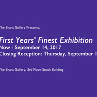 First Years' Finest Closing Reception