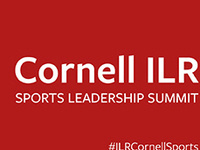 Cornell ILR Sports Leadership Summit