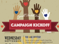Cornell United Way Campaign Kickoff