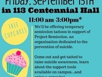 Suicide Prevention Week-Tattoos & Cupcakes