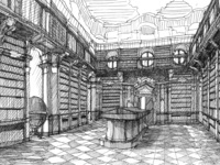 Justin Wadge: Baroque Libraries: The Journey to Getting Lost in a Book