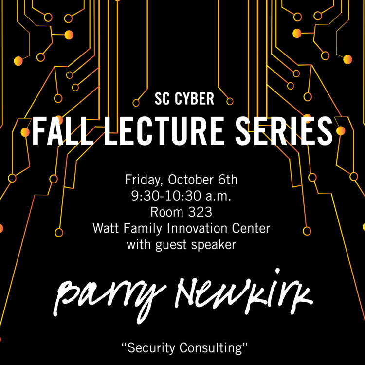 SC Cyber Fall Lecture Series