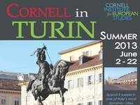 Cornell in Turin Summer 2013 Information Session