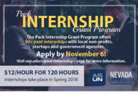Pack Internship Grant Program Info Session