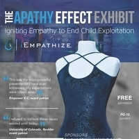 The Apathy Effect Exhibit - Igniting Empathy to End Child Exploitation